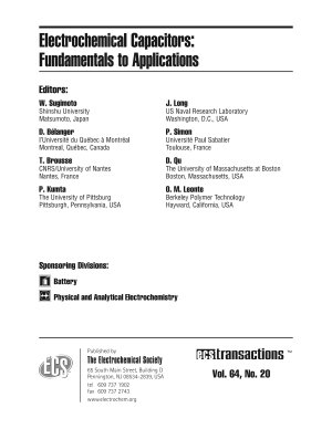 Electrochemical Capacitors: Fundamentals to Applications