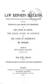 The Law Reports (Ireland): Volume 17