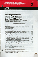 Reporting on an Entity s Internal Control Structure Over Financial Reporting PDF