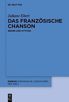 Das franz  sische Chanson PDF