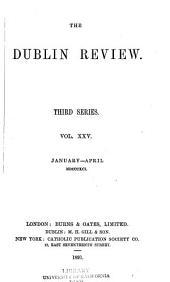 The Dublin Review: Volume 108