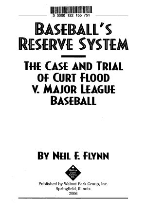 Baseball s Reserve System PDF