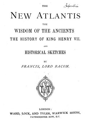 The New Atlantis   The Wisdom of the Ancients   The History of King Henry VII and Historical Sketches PDF