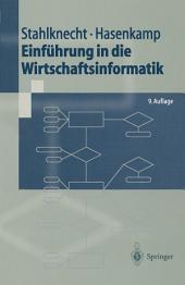 Einführung in die Wirtschaftsinformatik: Ausgabe 9
