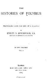 The Histories of Polybius: Volume 1
