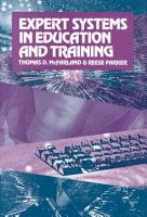 Expert Systems in Education and Training PDF