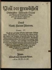 Von der grewlichen Uneinigkeit, Zwitracht, Secten und Rotten der Bapstischen Religion und Kirchen, Jtziger zeit