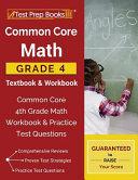 Common Core Math Grade 4 Textbook   Workbook