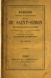 Mʹemoirs complets et authentiques du duc de Saint-Simon sur le siècle du Louis XIV et la rʹegence: Volume9