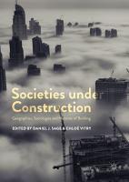 Societies under Construction PDF