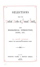 Selections from the Poetical Works of Samuel Daniel: With Biographical Introd., Notes, Etc