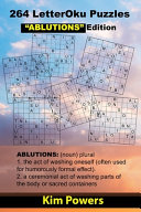 264 LetterOku Puzzles  ABLUTIONS  Edition