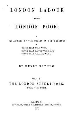 The London street folk  book the first