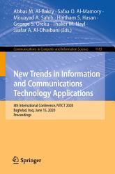 New Trends in Information and Communications Technology Applications PDF