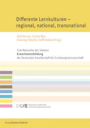 Differente Lernkulturen     regional  national  transnational PDF