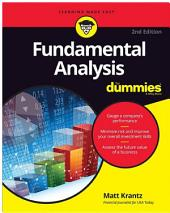 Fundamental Analysis For Dummies: Edition 2
