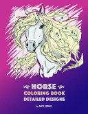 Horse Coloring Book  Detailed Designs