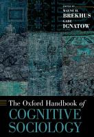 The Oxford Handbook of Cognitive Sociology PDF