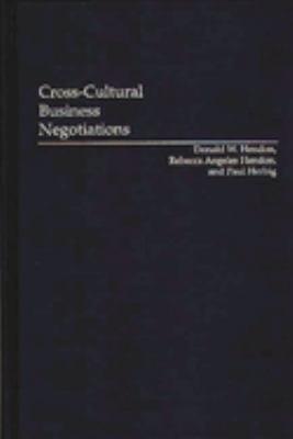 Cross cultural Business Negotiations
