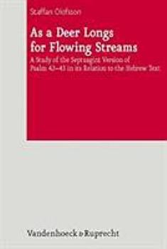 As a deer longs for flowing streams PDF