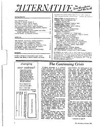 The Alternative PDF