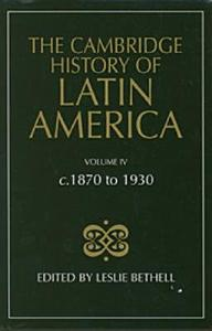 The Cambridge History of Latin America Book