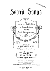 Sacred Songs: Bass