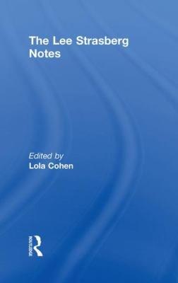 The Lee Strasberg Notes