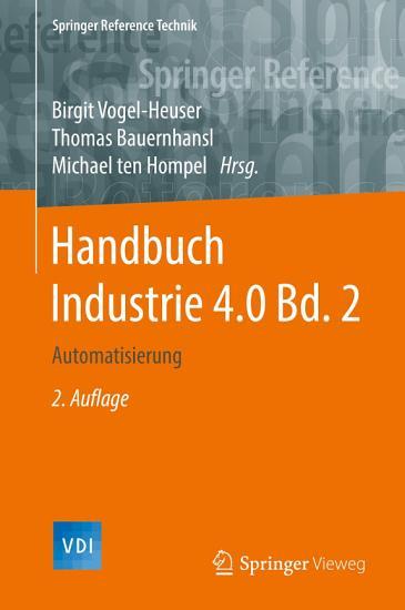 Handbuch Industrie 4 0 Bd 2 PDF