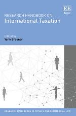 Research Handbook on International Taxation