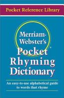 Merriam Webster s Pocket Rhyming Dictionary PDF