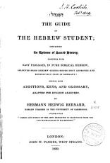 The Guide of the Hebrew Student PDF