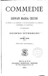 Commedie di Giovan Maria Cecchi