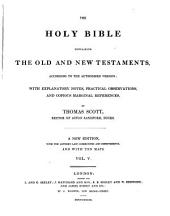 The holy bible containing the old and the new testaments: Volume 5