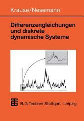 Differenzengleichungen und diskrete dynamische Systeme: Eine Einführung in Theorie und Anwendungen
