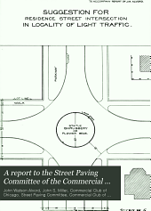 A report to the Street Paving Committee of the Commercial Club on the street paving problem of Chicago