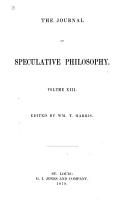 The Journal of Speculative Philosophy PDF