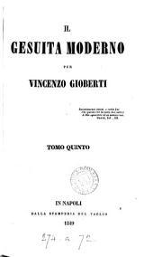 Il Gesuita Moderno: Volume 7