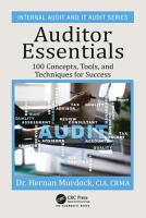 Auditor Essentials PDF
