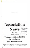 Association News  Association for the Protection of the Adirondacks   PDF
