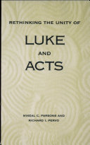 Rethinking the Unity of Luke and Acts