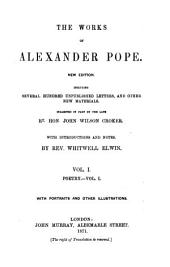 The Works of Alexander Pope: Poetry