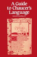 A Guide to Chaucer s Language PDF