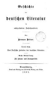 Literaturgeschichte des achtzehnten Jahrhunderts: Volume 3