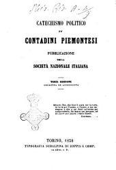Catechismo politico pe' contadini piemontesi pubblicazione della Società Nazionale Italiana