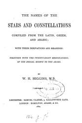 The Names of the Stars and Constellations PDF