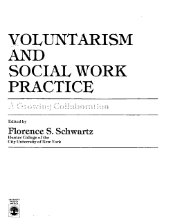 Voluntarism and Social Work Practice PDF
