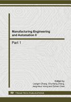 Manufacturing Engineering and Automation II PDF