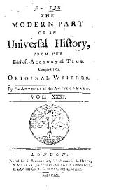 An Universal history, from the earliest account of time: Volume 52