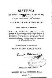 Sistema de los conocimientos químicos y de sus aplicaciones a los fenómenos de la naturaleza y del arte: Volumen 5